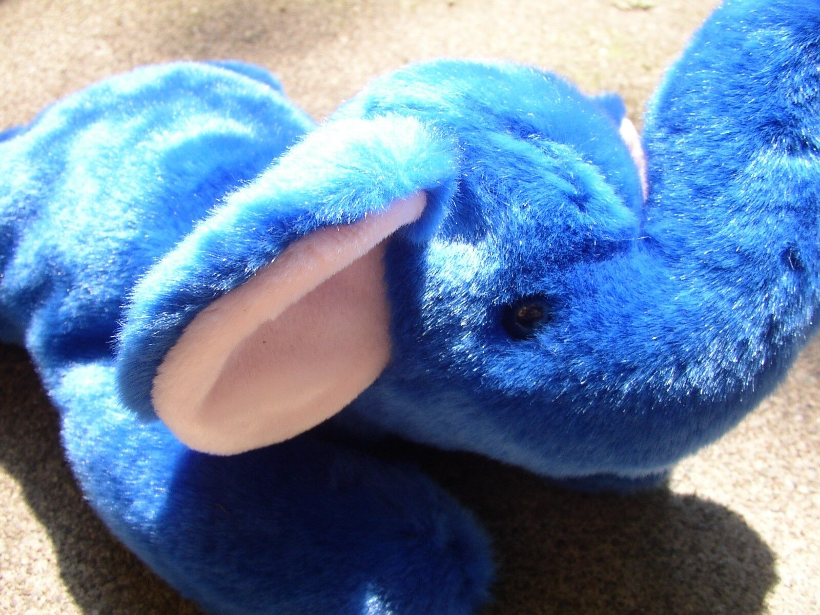 Peanut TY - The Royal bluee Elephant Buddy
