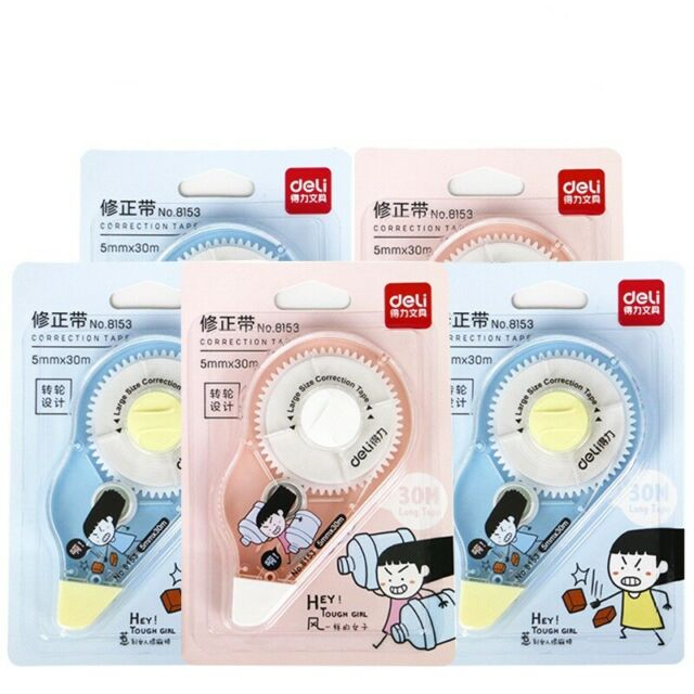 6m Cute Horse White Out Correction Tape School Stationery Office/_Study