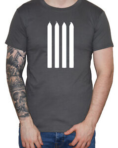 Dirty-Fingers-034-Four-Candles-034-T-Shirt-4-Fork-Handles-Funny-Men-039-s-The-Two-Ronnies