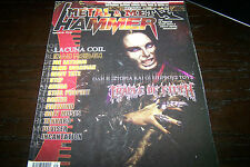 METAL HAMMER MAGAZINE 9/2002 CRADLE OF FILTH LACUNA COIL IRON MAIDEN DANZIG OTEP