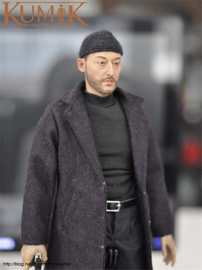 KUMIK 1 6 Scale Jean Reno Famous Male Actor Figure KMF038 Collection