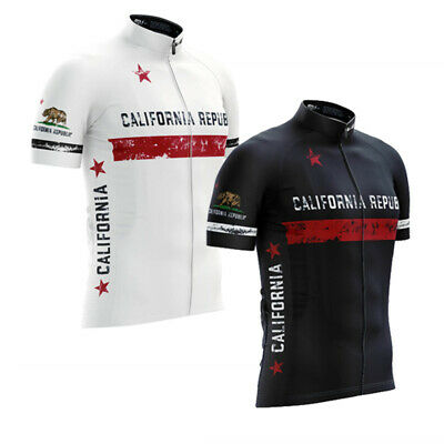 Mens Team Cycling Jersey Cycling Short Sleeve Cycling top bicycle Jersey L160