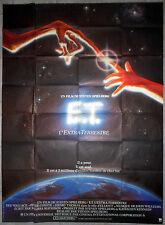 Affiche E.T. L'EXTRA-TERRESTRE Drew Barrymore STEVEN SPEILBERG 120x160 1982
