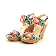 Jessica Simpson Jeisha Women US 9.5 Multi Color Wedge Sandal Mismatch  11213