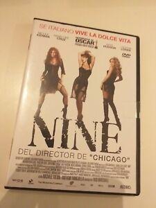 dvd-NINE-DEL-DIRECTOR-DE-CHICAGO-CON-P-CRUZ