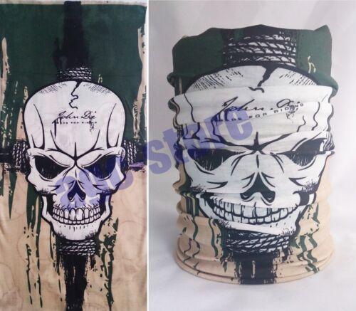 Bandana HARLEY écharpe Skull Foulard Chiffon Multifunktionstuch Biker