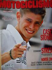 Motociclismo n°8 2007 Intervista Casey Stoner - Honda CBR 125R [SC.63]