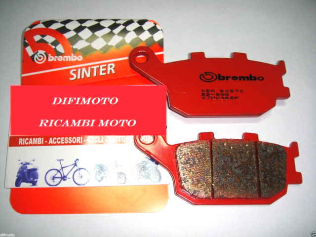 Rear Brake Pads Brembo Sintered 07HO36SP Honda Integra 700 2012