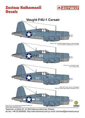 Techmod 1/32 Vought F4U-1 Corsair #32064