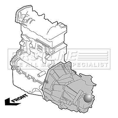 5 Año De Garantía Soporte de montaje de motor izquierdo de primera línea FEM3673-Original