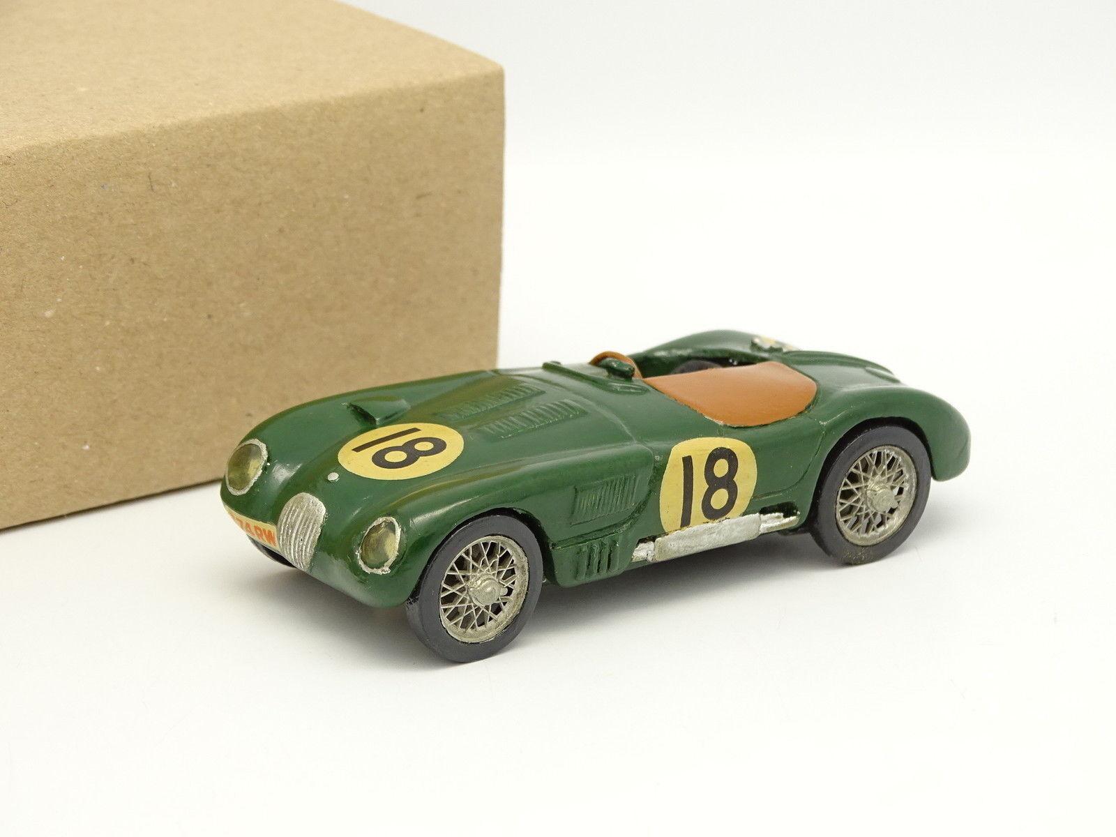 Kit Métal Monté 1 43 - Jaguar C-type  18 Winner le Mans 1953