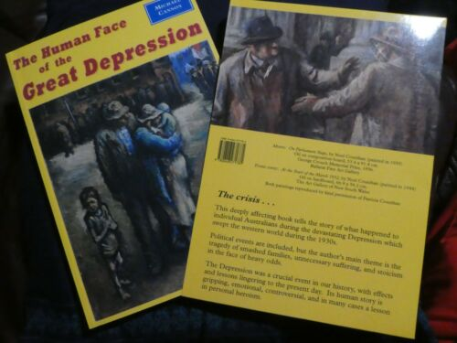 1 of 1 - The Human Face of the Great Depression by Michael Cannon (Paperpack, 1997) kb1