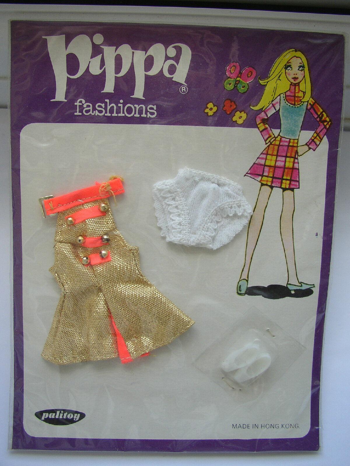 Palitoy Pippa dawn doll Originale mai tolto dall'imballo Mini Abito in condizione nuovo di zecca