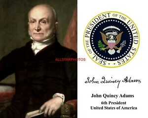 Presidential Seal Autograph 11 x 14 Photo Picture President James Madison U.S