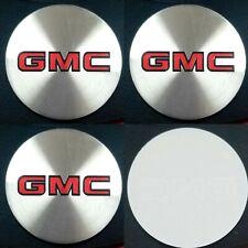 4pcs Gmc Emblem Badge Rally Wheel Center Hub Caps Logo Stickers 1set 4pcs