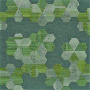 Designtex Ink Alloy Slate Green Gray Modern Geometric Upholstery