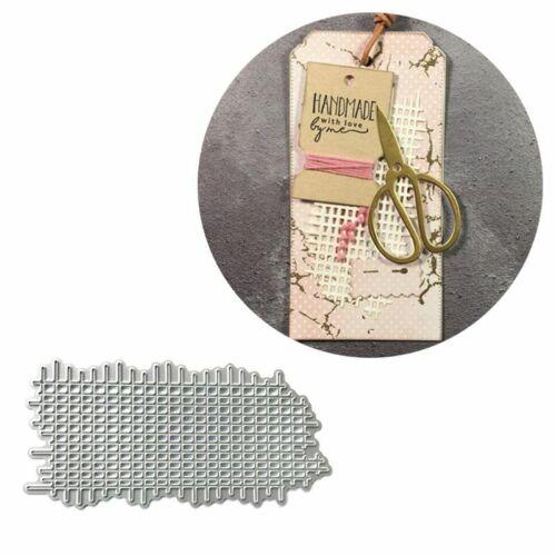 Grid Metal Cutting Die Stencil DIY Scrapbooking Album Paper Card Embossing Decor