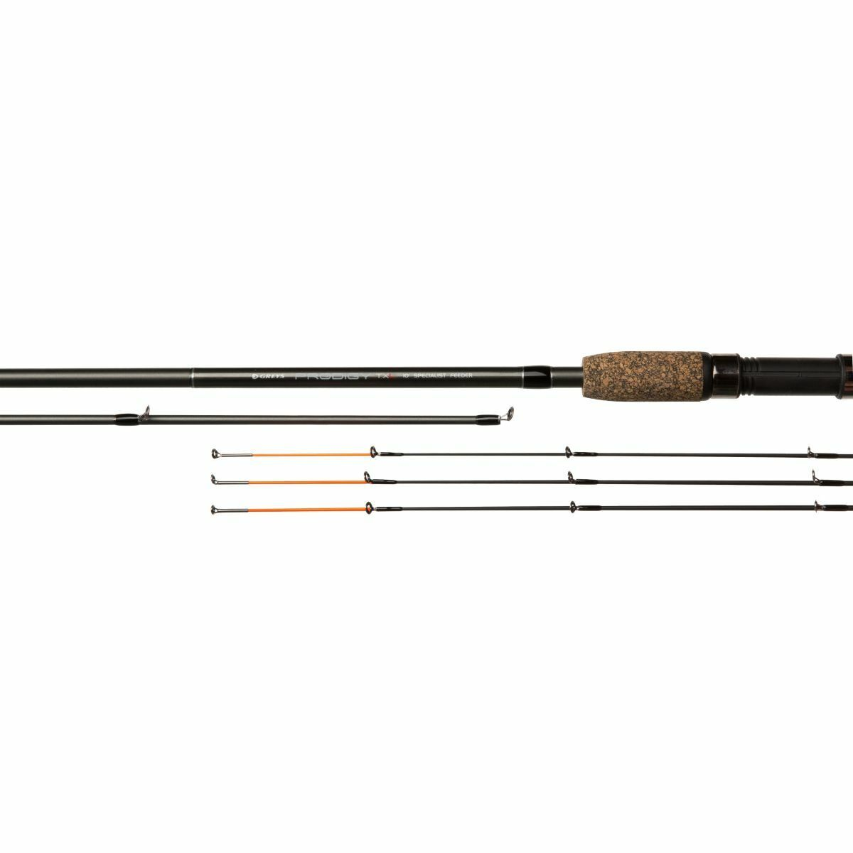 Canna da pesca feeder Greys Prodigy TXL ledgering carpa lago fiume e mare 12 ft