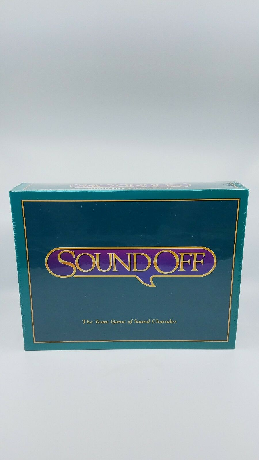 Sound Off Team Game of Sound Charades Party Game for 4 Or More Players Teams