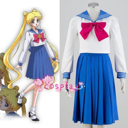 Anime,Sailor Moon Cosplay Tsukino Usagi costume marin