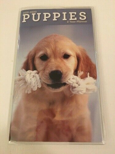 2019 2020 Puppies 2 Two Year Planner