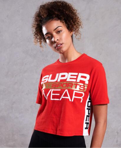 Superdry Womens Street Sports Crop T-Shirt