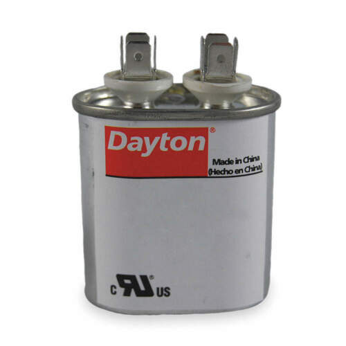 DAYTON 2MDZ8 Run Capacitor,50 MFD,440V,Oval