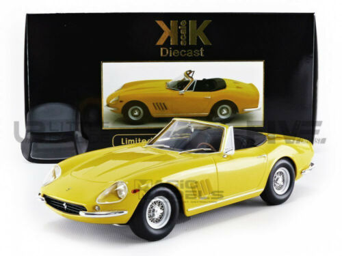 KK SCALE MODELS 1//18 FERRARI 275 GTB//4 NART SPIDER 1967-180235Y