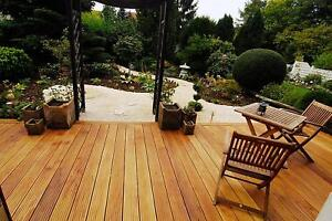 Komplette-Holzterrasse-Sibirische-Laerche-Terrassendielen-28-mm-Zimmerei-Tischler