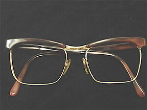 Vintage-60-Morel-Mount-Frame-Double-Gold-New-New