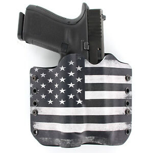 OWB Kydex Holster Green /& Black USA Flag SIG