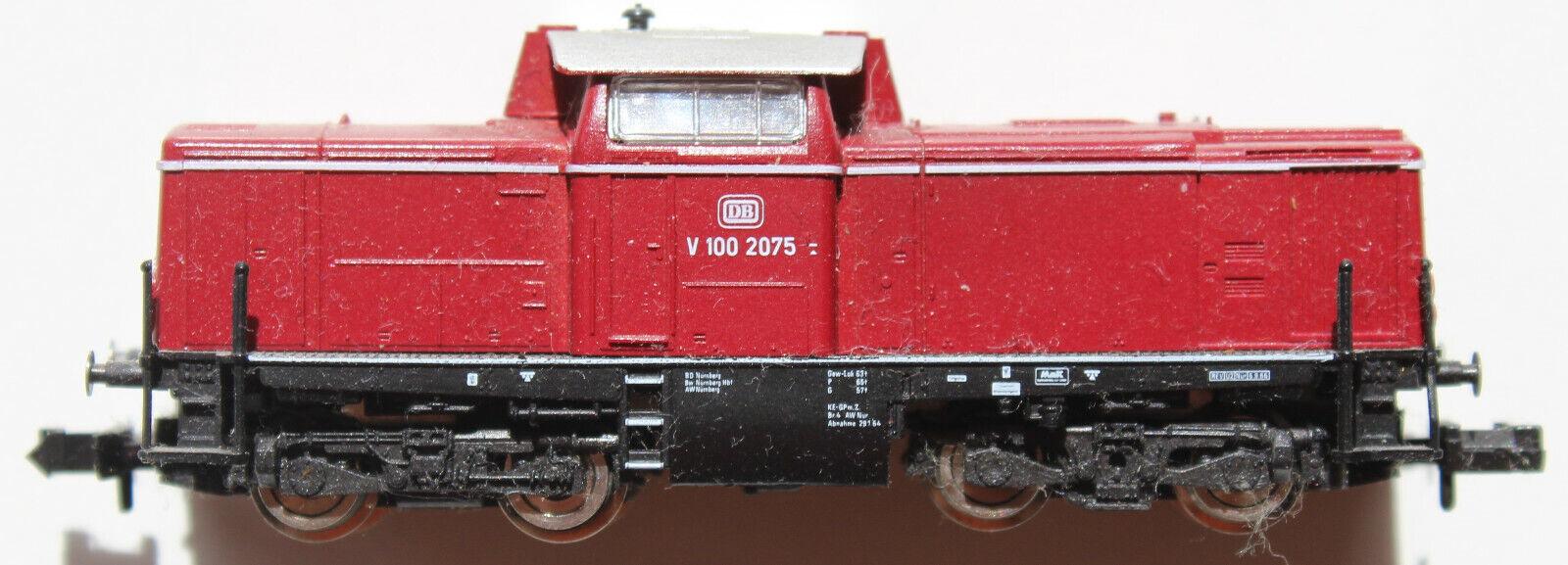 Spur N Fleischmann 9370 BR V100 2075 DB