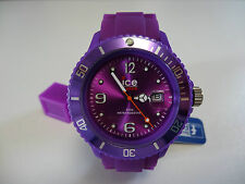 Ice Watch SILI PURPLE Armbanduhr Unisex SI.PE.U.S.09 NEU Lila 38 cm 5 ATM Small