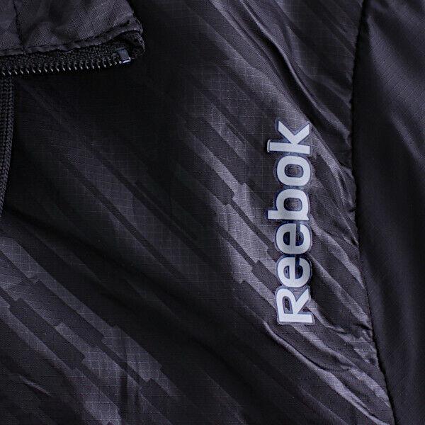 Reebok Damen Jacke mit Kapuze Play Dry Sport Essentials Jacke schwarz