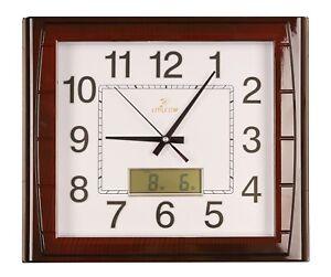 Horloge-murale-salle-de-sejour-bureau-montre-numerique-affichage-sans-tic-tac