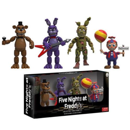 Freddy/'s Five Nights PVC Action Figure Bonnie Foxy Freddy 5 Fazbear Bear Toy UK