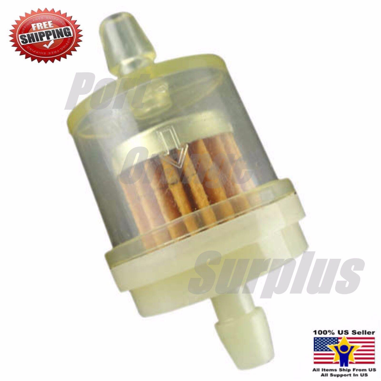 "10Pcs 1//4/"" Fuel Filters fit 4 Strokes 50cc 70cc 110cc 125cc 150cc Pit Dirt Bike"