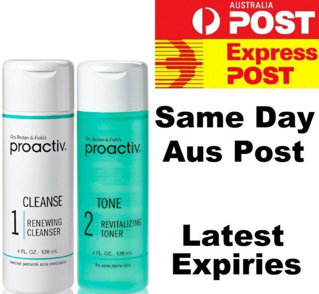 Proactiv 2 Piece/Step 60 Day Acne Set -120ml Cleanser & 120ml Revitalising Toner