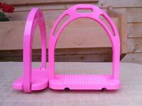 Steigbügel Jinn Farbe Pink Rosa /sonderpreis Wegen Abverkauf
