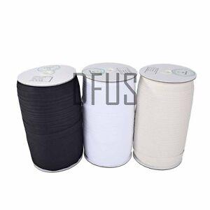 Cotton-Herringbone-Twill-Tape-12mm-19mm-25mm-50mm-Black-White-Natural