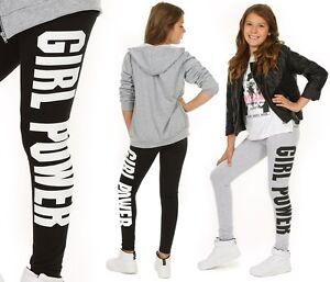 Maedchen-Leggins-Leggings-Aufdruck-GIRL-POWER-116-158-hk205