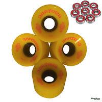 Cruiser Skateboard Wheels 59mm 84a Dog Town Add Reds Bearings Longboard Penny L