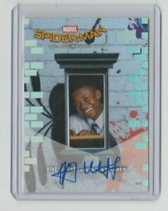Spiderman-Homecoming-Autograph-Trading-Card-Abraham-Attah-as-Abe-A1
