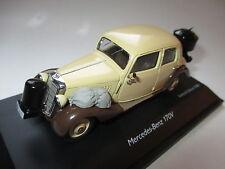Mercedes V 170 Holzvergaser wood gasifier beige braun WW II, Schuco 1:43 boxed!