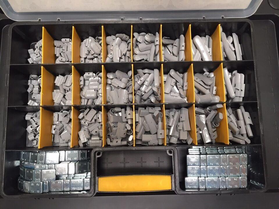 Jema Afbalancringsklodse sortiment, Jema Autolifte A/S