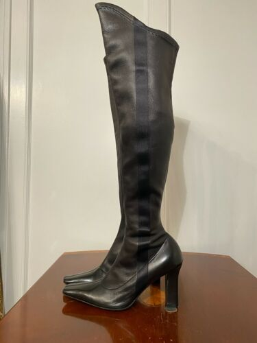 GIVENCHY Size 37 US 7 Fetish Tall/Over-Knee Stretc