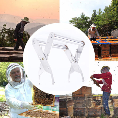 Beekeeping Supplies Steel Hive Frame Holder Lifter Capture Grip Tool Shan