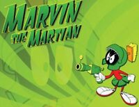 Marvin Martian Fridge Magnet 4. 4 X 5. Looney Tunes.....free Ship