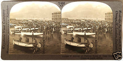 Keystone Stereoview Victoria Falls AFRICA from 1930's T600 Set #A So Rhodesia