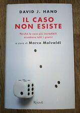 Il Caso Non Esiste David J Hand Rizzoli 2014